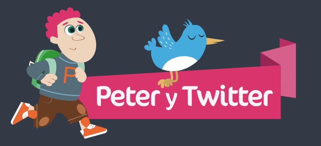 Peter y Twitter por la ciberconvivencia y la igualdad - ciberbullying - PantallasAmigas
