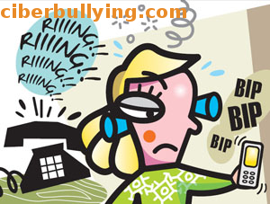 Ilustración ciberbullying