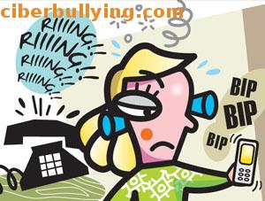 Ilustración ciberbullying