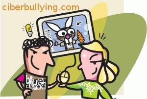 Ilustración burla ciberbullying