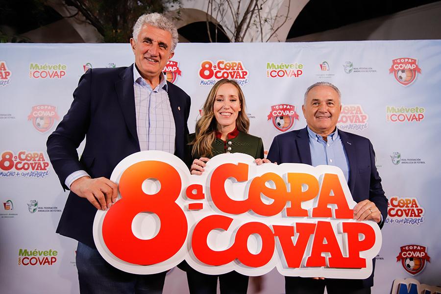 Los padrinos de Copa COVAP